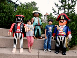 Little Snowdons in Playmobil land