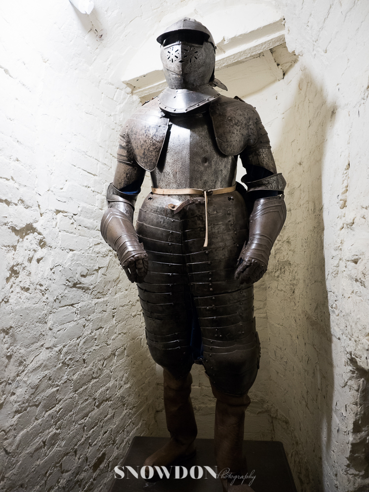 Leeds Castle - knights armour, Photography by Ghene Snowdon