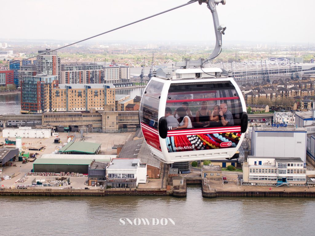 Emirates Air Line, cable car London
