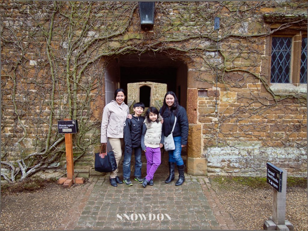 That's us with my sister at Canons Ashby House