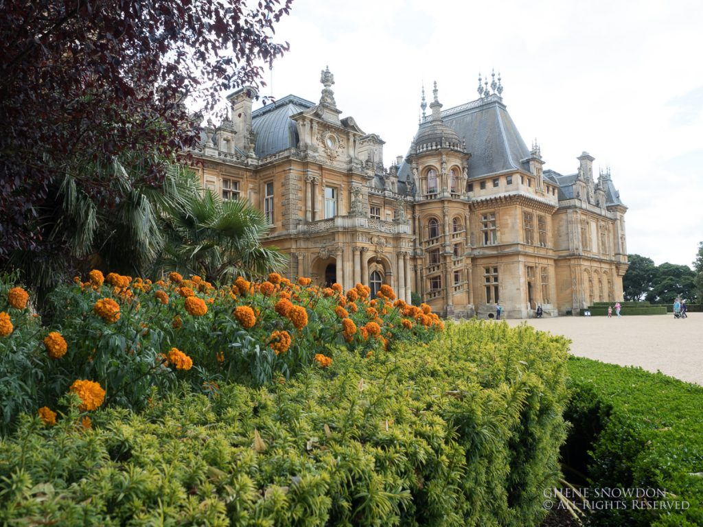 Waddesdon Manor by Ghene Snowdon