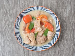Filipino Chicken in coconut milk