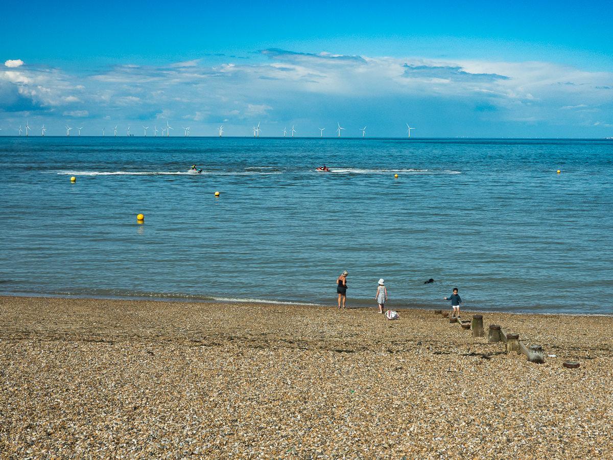 Herne Bay Market & beach